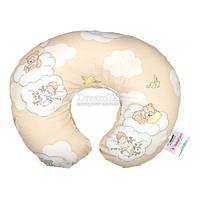 """Подушка для кормления Sonex """"BabyCare"""" 58х54х17 см бежевый + наволочка (SO102144)"""