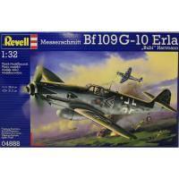 Сборная модель Revell Истребитель Messerschmitt Bf109 G-10 Erla 1:32 (4888)