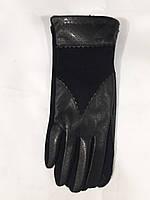 Перчатки для сенсорных экранов женские кожзам норма 7-8