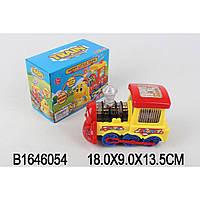 Муз.паровоз 2689 батар,звук,свет, в кор. 18*9*13,5см