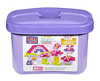 Конструктор Mega blоks Building Blocks Tub Pink (60 деталей)