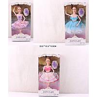 "Кукла типа Барби ""Балерина"" 88038-3/2/1 (120шт/2) 3 вида, шарнирная,пуанты,в кор. 33*16*5см"