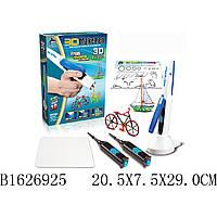 Ручка 3D 6603 (1626925) (48шт/2) 2 цвета, ручка заряжается, инструкция, формы, в коробке 20,5*7,5*2