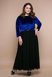 Платье больших размеров 54-60 SV Анабель