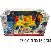 Музыкальная игрушка машинка р/у 34789 для малышей, в кор. 27*13*15см