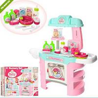 Детская кухня Nursery Set 008-910, розовая