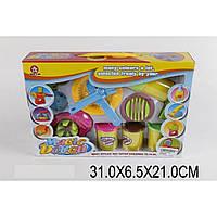 Набор длятворчества 326D (1380338) (48шт/2)тесто для лепки 3 цвета,приспособления,в кор.31*6,5*21см