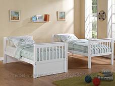 Кровать двухярусная трансформер Альбинос (массив), фото 3