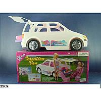 """Машина """"Gloria"""" 22011 (6шт) внедорожник,с набором для пикника,багажник открыв,в коробке,39см"""