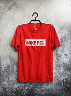 Футболка мужская Nike F.C. (красный)