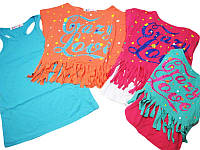 Комплект майка-туника с футболкой, размеры 104, Grace, арт. G 4674