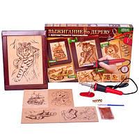 Набор для выжигания по дереву (в картонной упаковке: 37,5х25,5х4 см. Возраст от 8 лет)