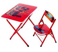 Раскладной стол и 1 стул OPT-BK-DT19 (61*73*7см)
