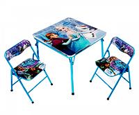 Раскладной стол и 2 стула OPT-BK-DT21 (71*69*8.5см)