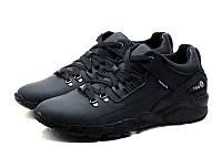 Кроссовки Jordan мужские кожаные черные 40 41 42 43 44 45