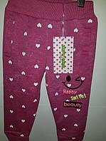 Стильные штаны для девочки на 1 год