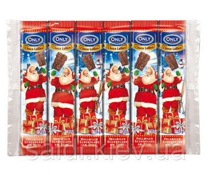 Шоколадный Николайчик на палочке 15грамм ONLY