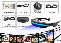 Видео-очки 52 + av-input с возможностью подключения к сторонним устройствам