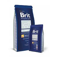 Сухой корм 15 кг для собак склонных к полноте, малоподвижных или с избыточной массой тела Брит Премиум / Light Brit Premium