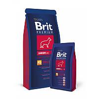Сухой корм 3 кг для стареющих собак крупных пород Брит Премиум / Senior L Brit Premium