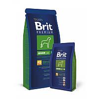 Сухой корм 15 кг для стареющих собак гигантских пород Брит Премиум / Senior XL Brit Premium