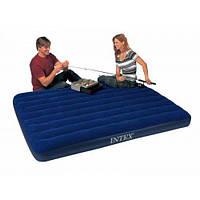 Двухспальный надувной матрас Intex