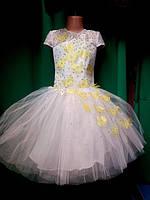 Бальное детское платье Бабочка