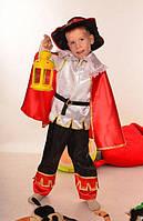 Карнавальный костюм для мальчика Кот в сапогах