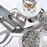 Хлопья юки серебро , фото 1