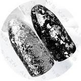 Пластівці юкі срібло голограма, фото 2