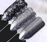 Пластівці юкі срібло голограма, фото 3
