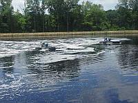 Ликвидация обрастания и цветения воды в водоемах