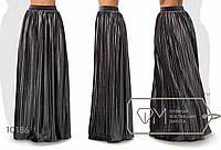 Женская бархатная юбка Гофре,длинна в пол,Размеры: S, M, L