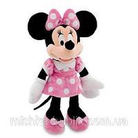 Мягкая игрушка  Дисней Минни Маус розовая , 40 см