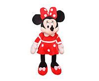 Мягкая игрушка  Дисней Минни Маус красная , 40 см