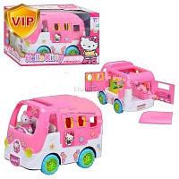 Музыкальный автобус Hello Kitty с комнатой и мебелью арт. 823D