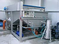 Установки для очистки сточных вод предприятий пищевой промышленности, до 100 м3 в час