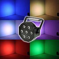 Светомузыкальный прожектор Led Par Light 6*3W