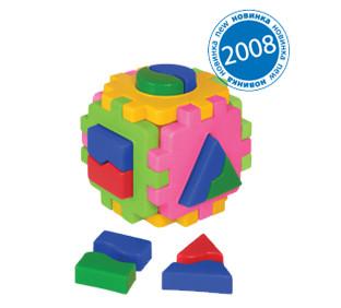 "Детская игрушка Куб-сортер ""Логика комби"" 2452 ТМ Технок"