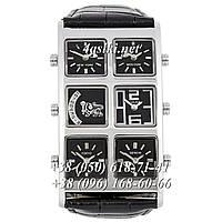 Часы Ice Link Ambassador Snow Black-Silver-Black, фото 1