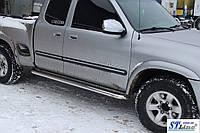 Toyota Tundra StepSide (00-06) пороги площадка   d60х2мм