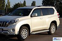 Toyota Land Cruiser Prado 150 (09+) пороги трубы   d60х2мм
