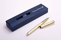 Ручка кулькова в футлярі, 1.0 мм, сині чорнила, металевий корпус