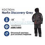 Зимний костюм Norfin Discovery Gray размер L , фото 3
