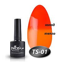 Гель лак Nice for you термо TS-01