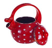 Чайник со свистком эмалированный 1750 Edenberg/EdelHoff акция , фото 1