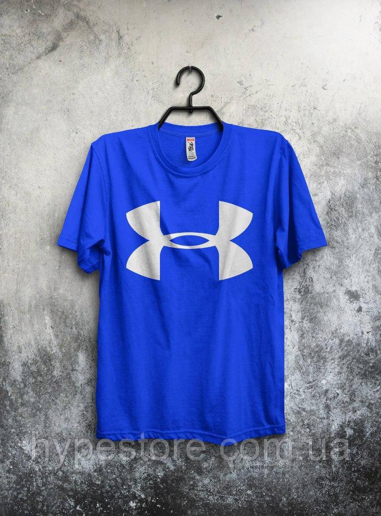Футболка мужская Under Armour (синий), Реплика