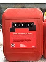 Стоун хаус противоморозный пластификатор для бетона 10л