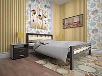 Кровать Модерн 3 деревянная односпальная 90 (Тис)