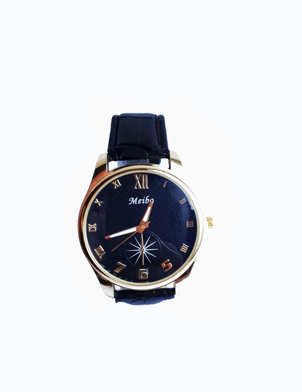 Часы кварцевые мужские Meibo New 46-04 черный